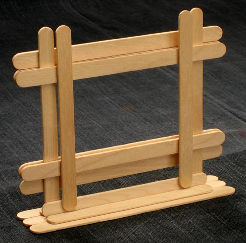 Make Self Standing Picture Frames!