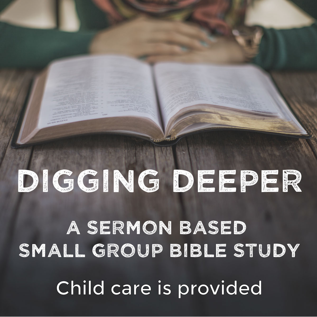 Digging Deeper: a sermon based small group @ CrossWay Church Community Room (downstairs) | Battle Ground | Washington | United States