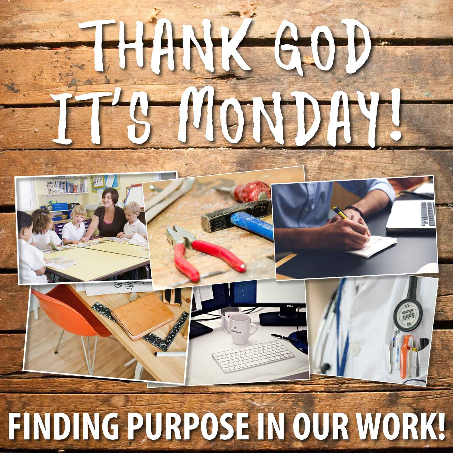 Thank God It's Monday! #5 – Can A Christian Work There?